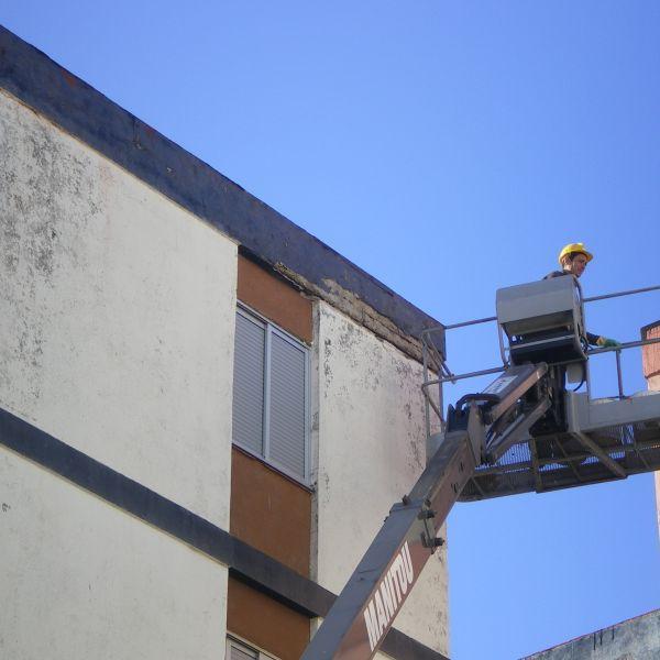 14.06.13. Reparación de cascotes de fachada IV
